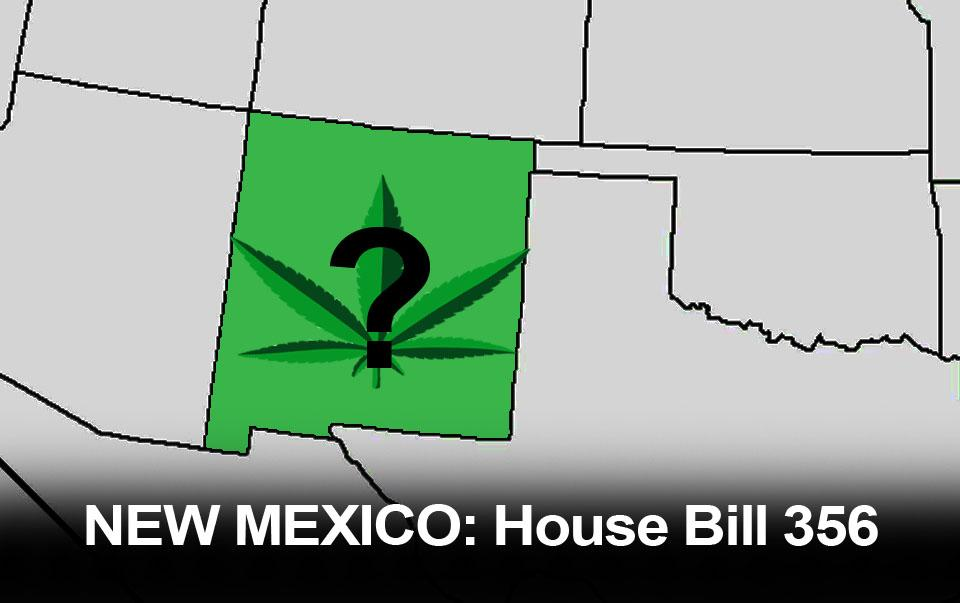 NEW MEXICO: House Bill Moves forward to Legalize Recreational Marijuana