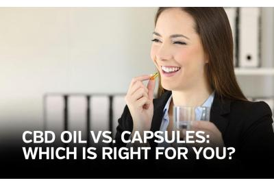 CBD Oil vs. Capsules: What's Right for You?