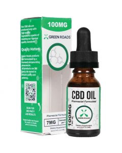 100mg CBD Oil by Green Roads