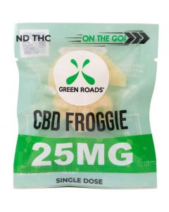 25mg On The Go CBD Froggies Gummie by Green Roads