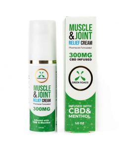 300mg CBD Muscle & Joint Pain Relief Cream by Green Roads
