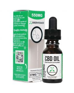 550mg CBD Oil by Green Roads
