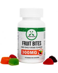 300mg CBD Gummie Fruit Bites by Green Roads