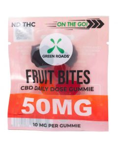 50mg On The Go CBD Fruit Snack Gummies by Green Roads